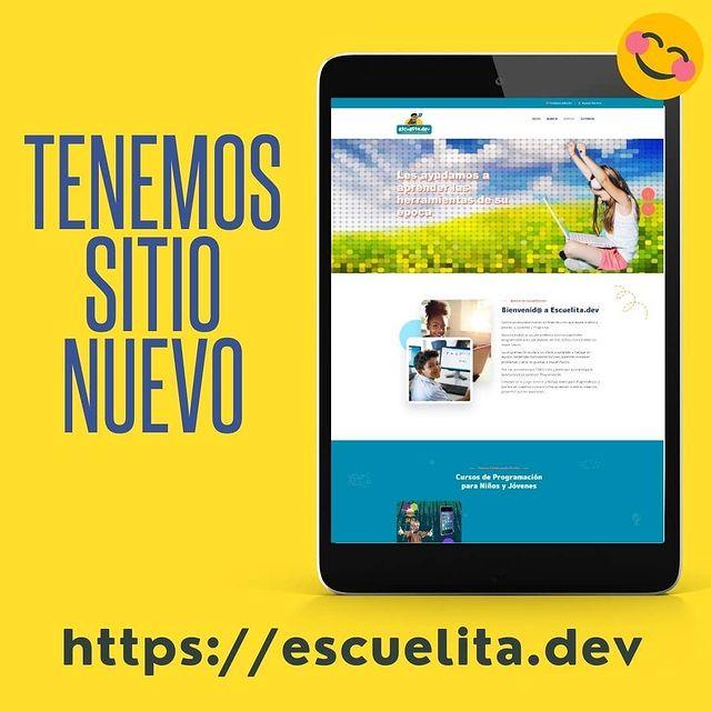 Escuelita.dev tiene nuevo sitio web!